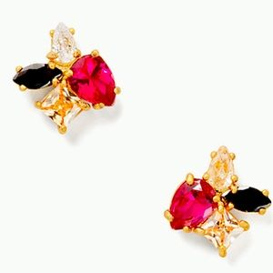 New Kate spade flying colors cluster studs